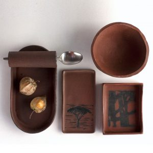 tableware by cape town ceramicist, Amelia Jacobs